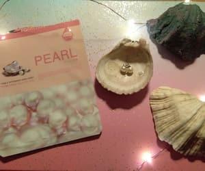 mermaid, pearl, and skin care image