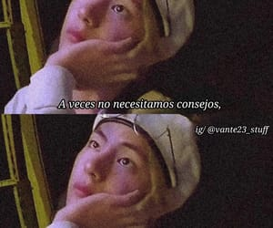 aesthetic, tumblr, and frases bts image