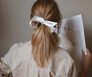 hair, chanel, and style image