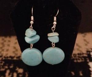 boho, earrings, and etsy image