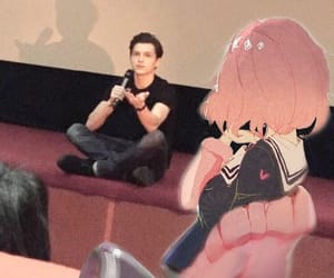 spiderman, tom holland, and kuriyama mirai image