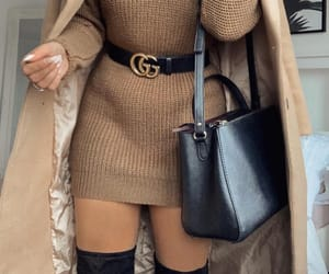 beige, boots, and outfit image