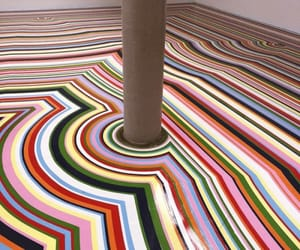 colors, floor, and striped image