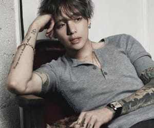 bts, v, and tattoo image