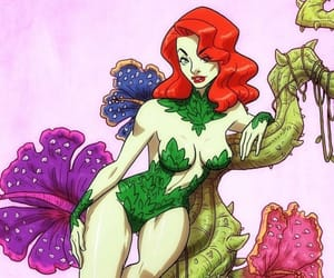 DC, poison ivy, and Gotham image