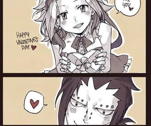 anime, Valentine's Day, and fairy tail image