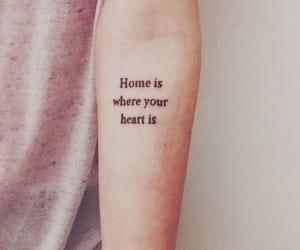 tattoo, heart, and home image