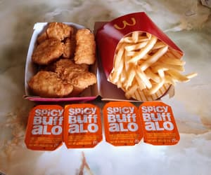 fries, McDonald's, and nuggets image