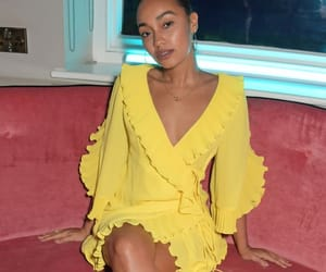 famous, leigh anne pinnock, and fashion image