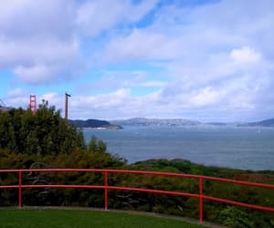 bridge, golden gate, and nature image
