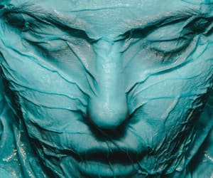 art, teal, and photography image