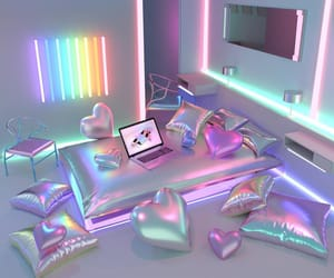aesthetic, bedroom, and digital image
