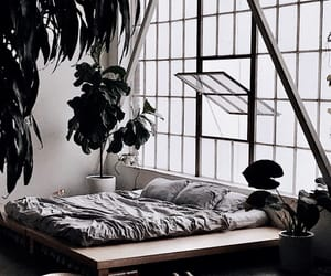 architecture, bedding, and decor image