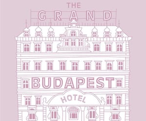 poster, wes anderson, and the grand budapest hotel image