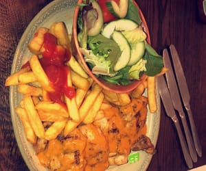 Chicken, food, and nando's image