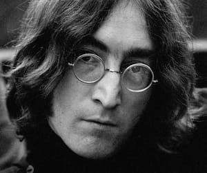 1968, john lennon, and he's so pretty image