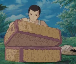 grave of the fireflies and ghibil studio image