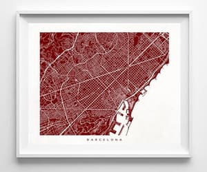 etsy, street map, and anniversary gifts image