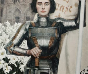 painting, jeanne d'arc, and albert lynch image