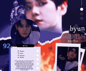 blue, gif, and exo k image