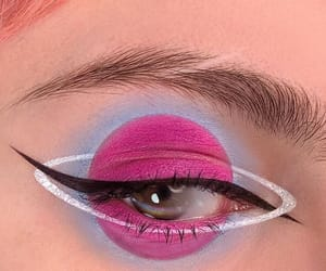makeup, eyeshadow, and fashion image