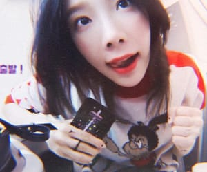 aesthetic, tiffany, and kpop image