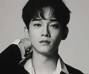 black and white, Chen, and kai image