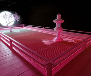 contemporary art and pink image