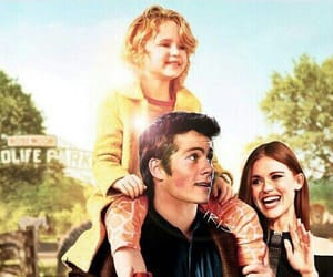 holland roden, stydia, and dylan obrien image