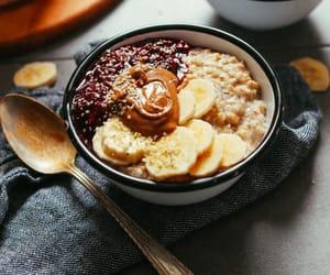 bananas, breakfast, and healthy image