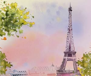 eiffel tower, paris, and upasana image