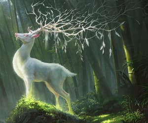 animal, art, and fantasy image