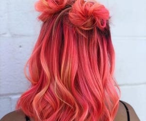hair, hairstyle, and colorful image
