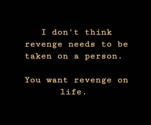 quotes, revenge, and words image