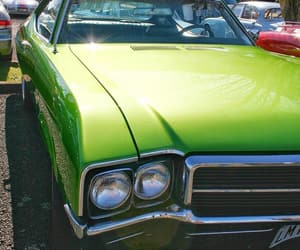 cars, green, and lime image