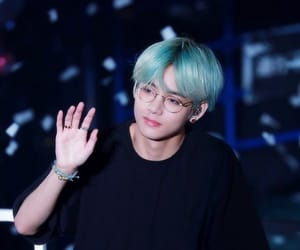 army, tae, and jin image