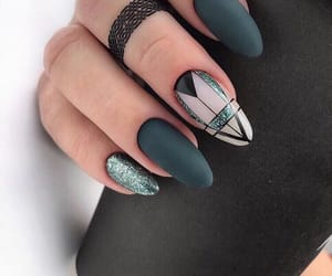 nails, girl, and beautiful image