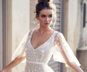 wedding, bridal, and bride image