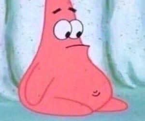 meme, patrick, and spongebob image