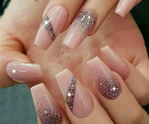 nail art, pinky-glitter, and transparent image