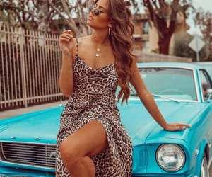 car, dress, and jamie mansfield image