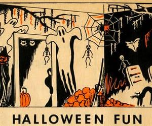 cartoon, ghost, and Halloween image