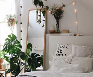 bed, decoration, and inspo image