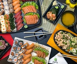 food, inspiration, and sushi image