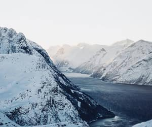 mountains, fjord, and inspiration image