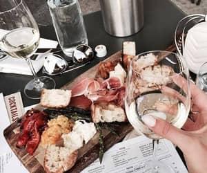 food, drinks, and wine image
