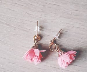 earrings, girly, and magical image