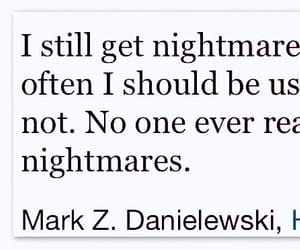 nightmares, quote, and ptsd image
