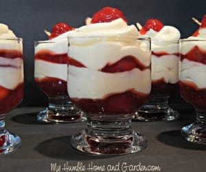cherry, desserts, and recipes easy image