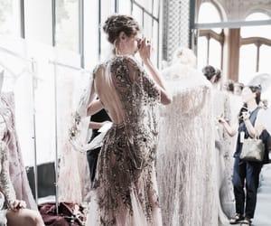 fashion, dress, and chic image